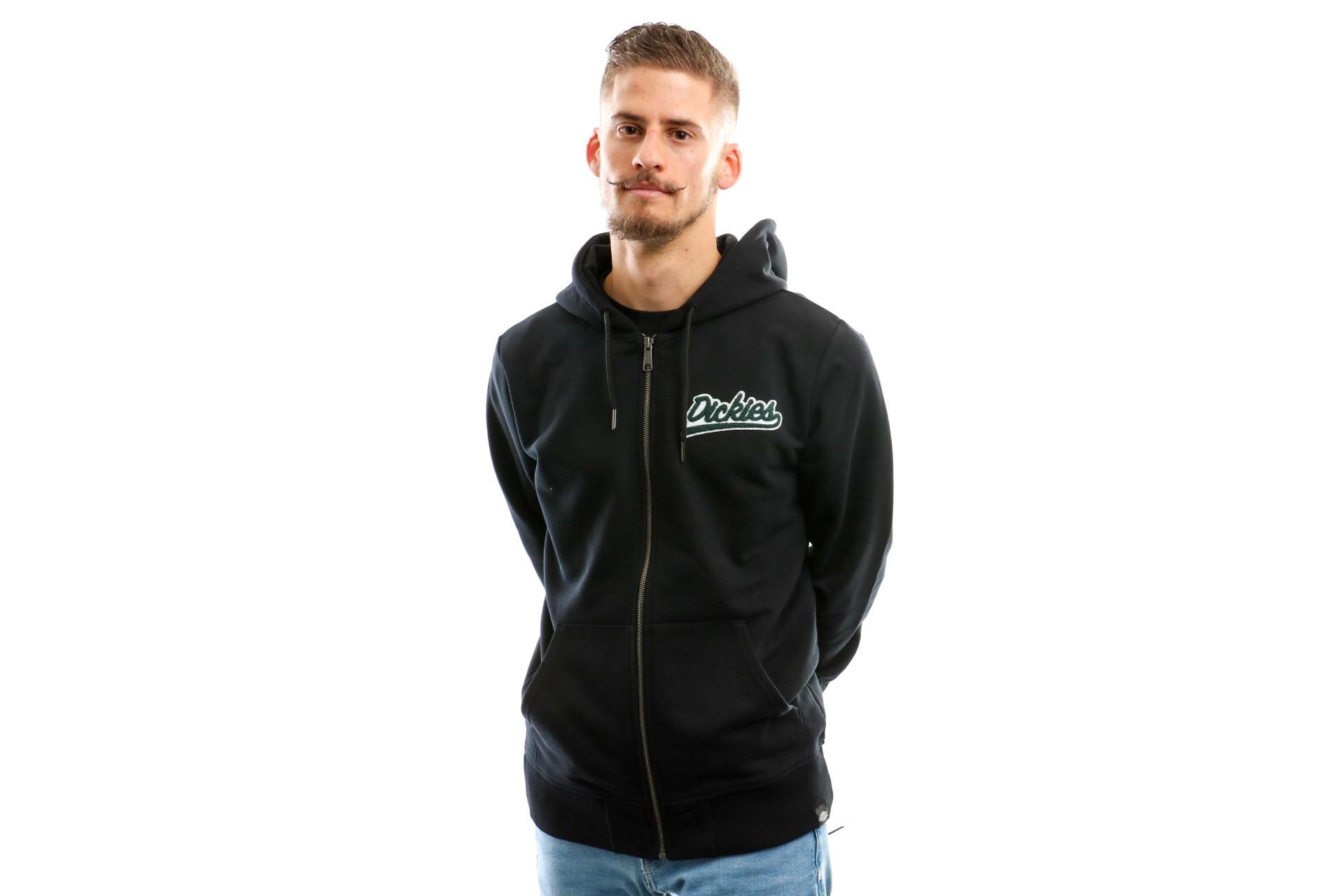 Foto van Dickies Monticello 03 200185 Hooded Zip Black