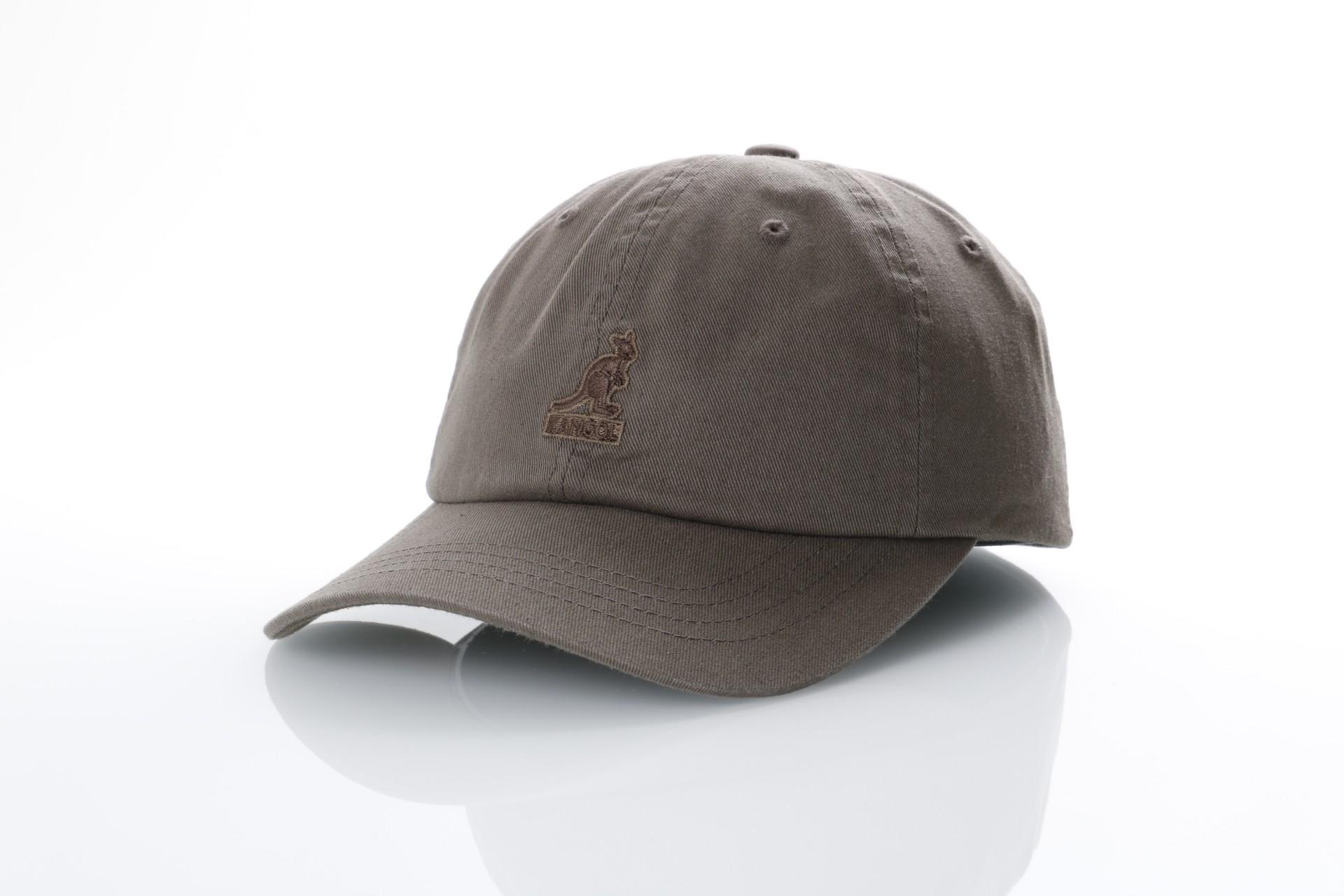Foto van Kangol K5165HT Strapback cap Washed baseball Smog