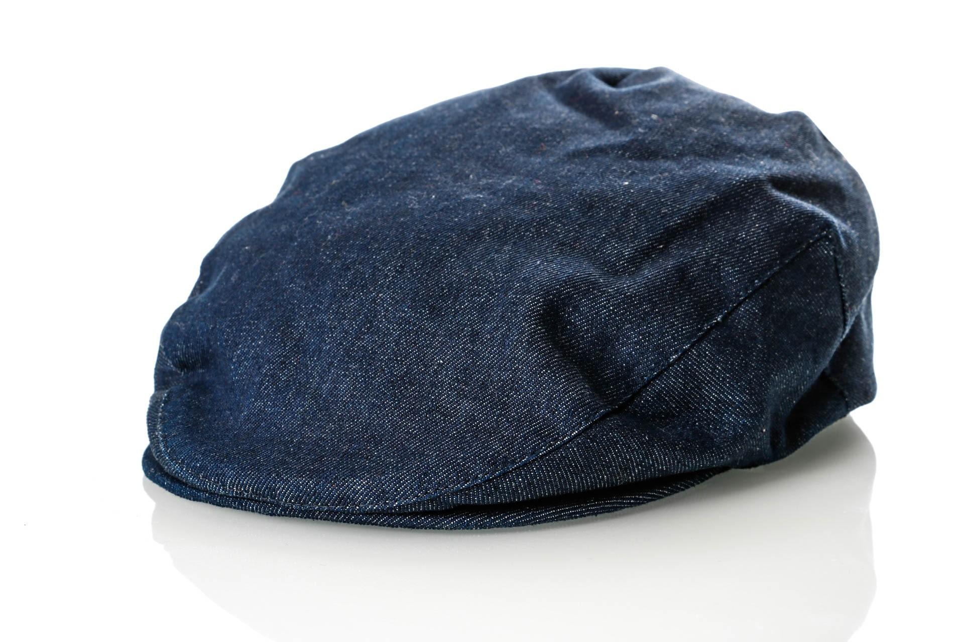 Foto van Brixton HOOLIGAN SNAP CAP 5 Flatcap DENIM