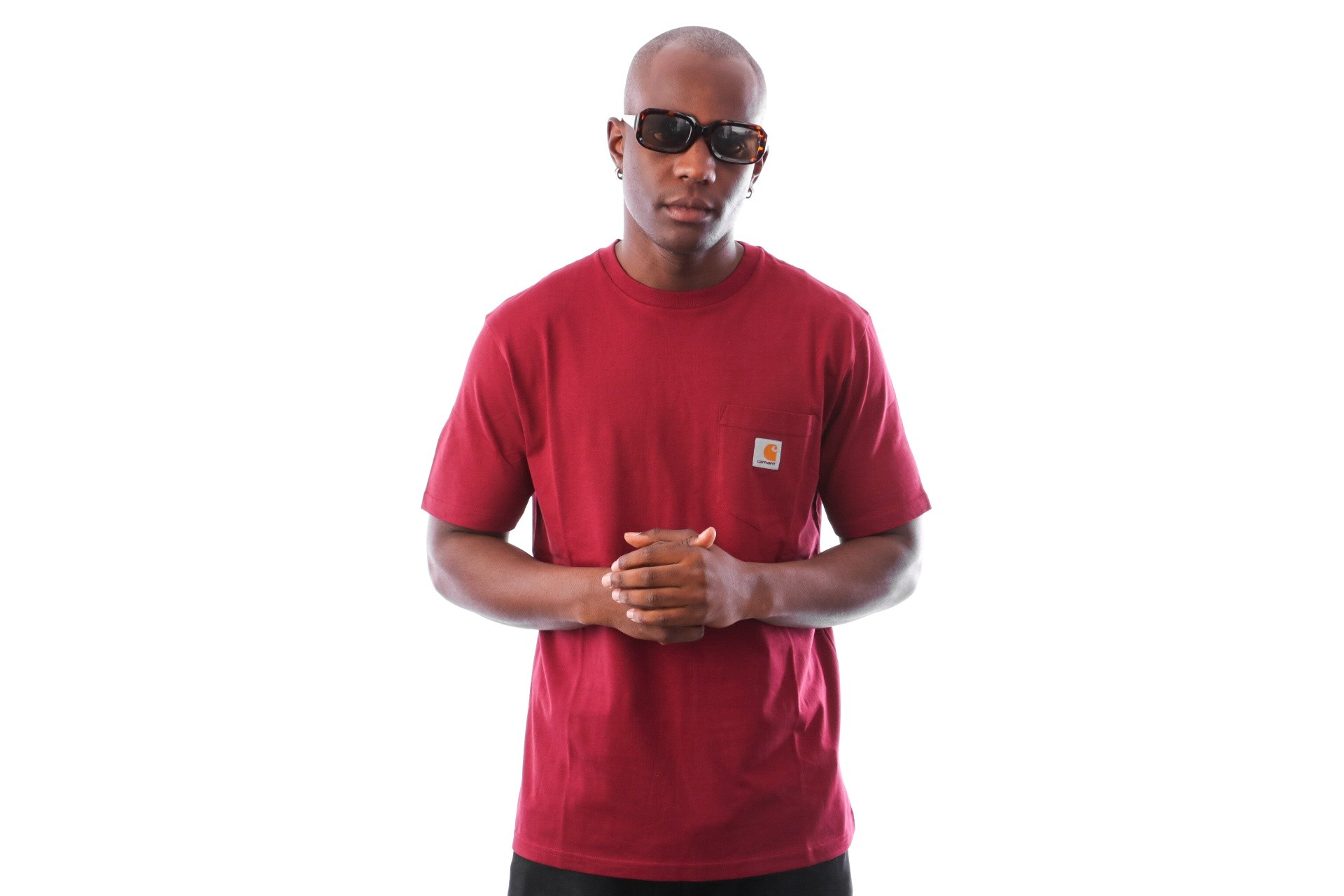 Foto van Carhartt WIP S/S Pocket T-Shirt I022091 T-shirt Mulberry