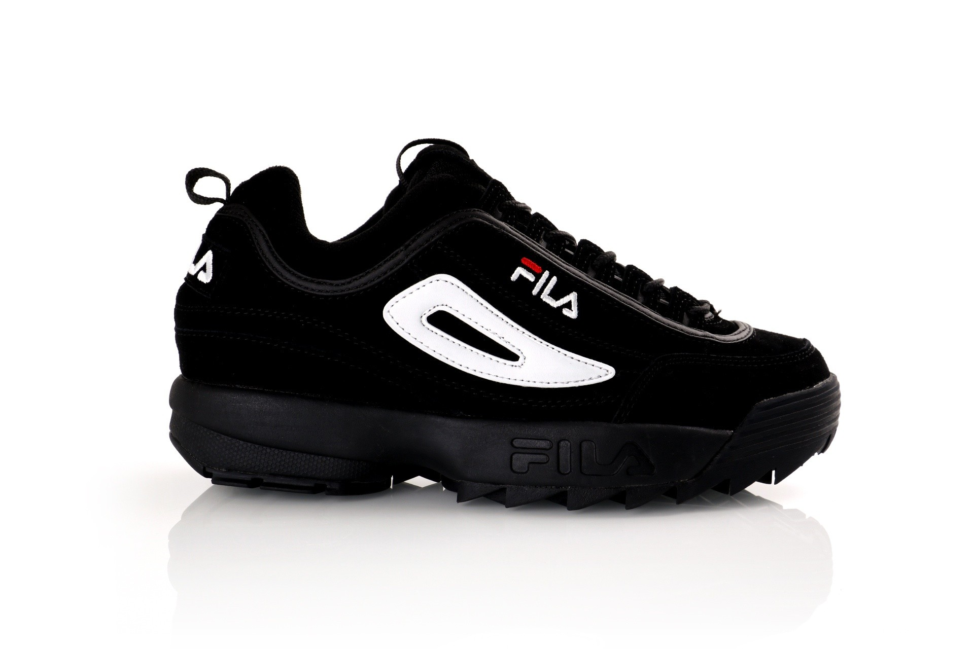 Foto van Fila Disruptor S low 1010490 Sneakers black/black