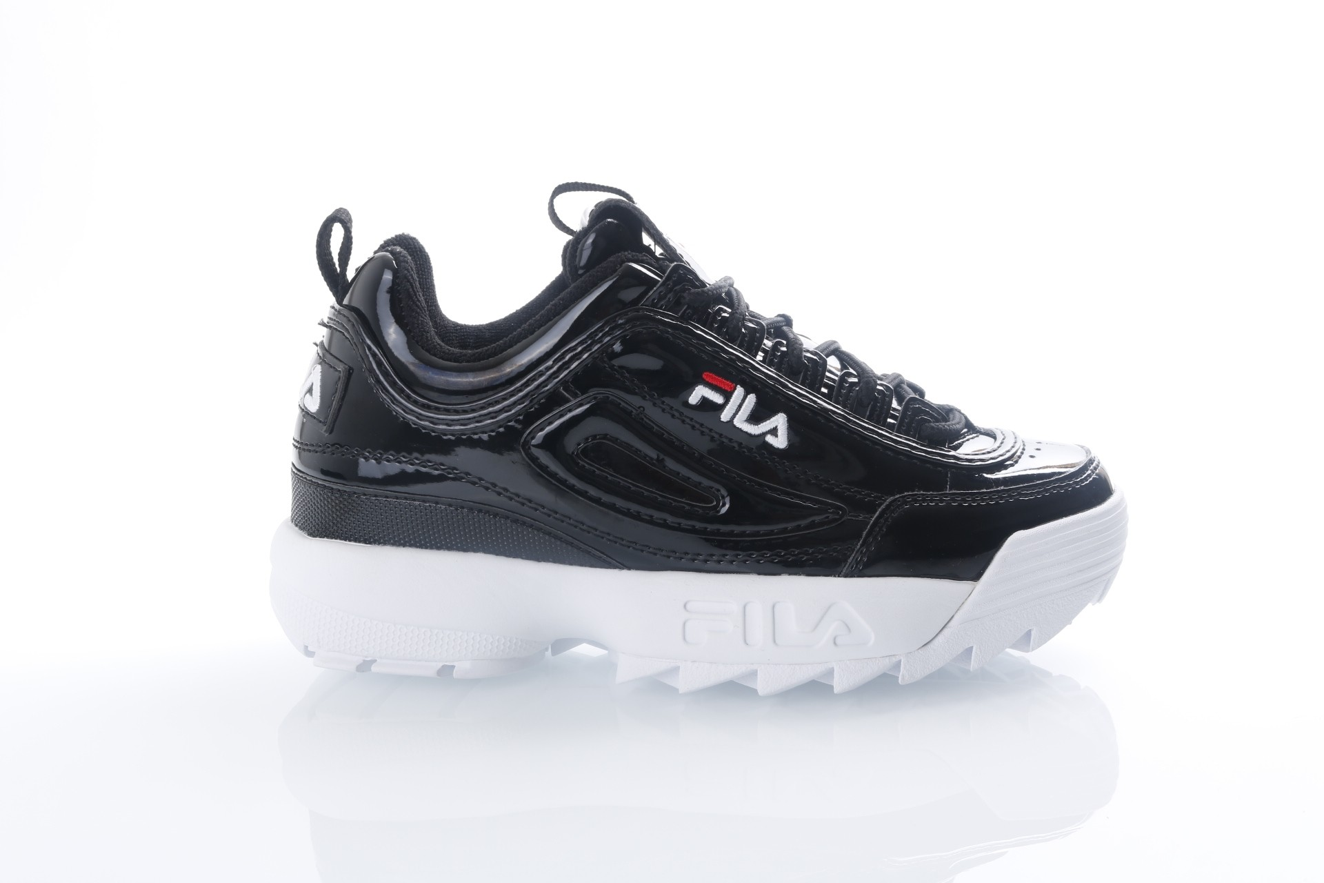 Foto van Fila Ladies 1010303-25Y Sneakers Disruptor Metallic Black