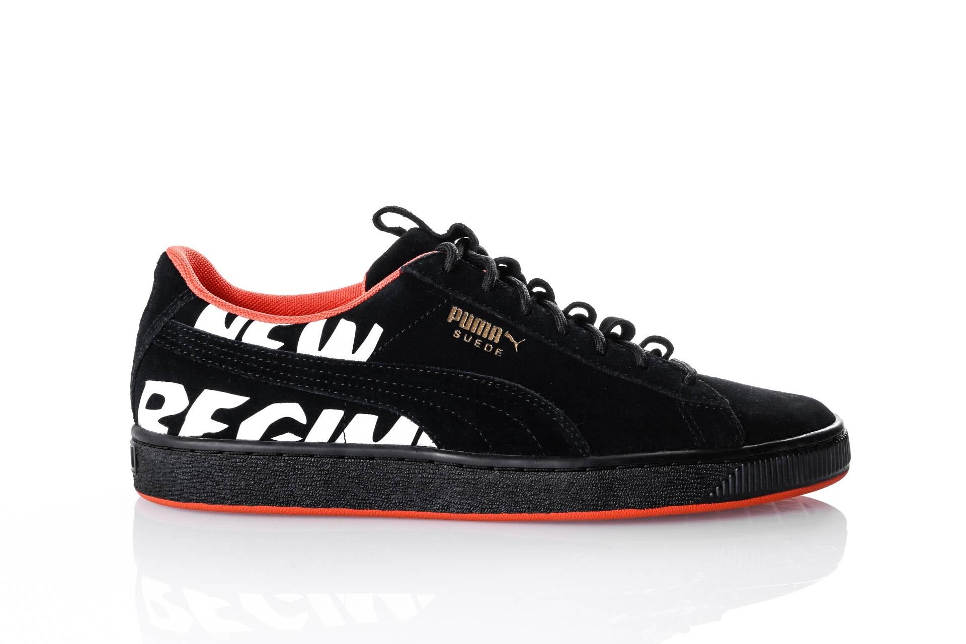 Foto van Puma Suede ANR 366534 Sneakers puma black-puma black