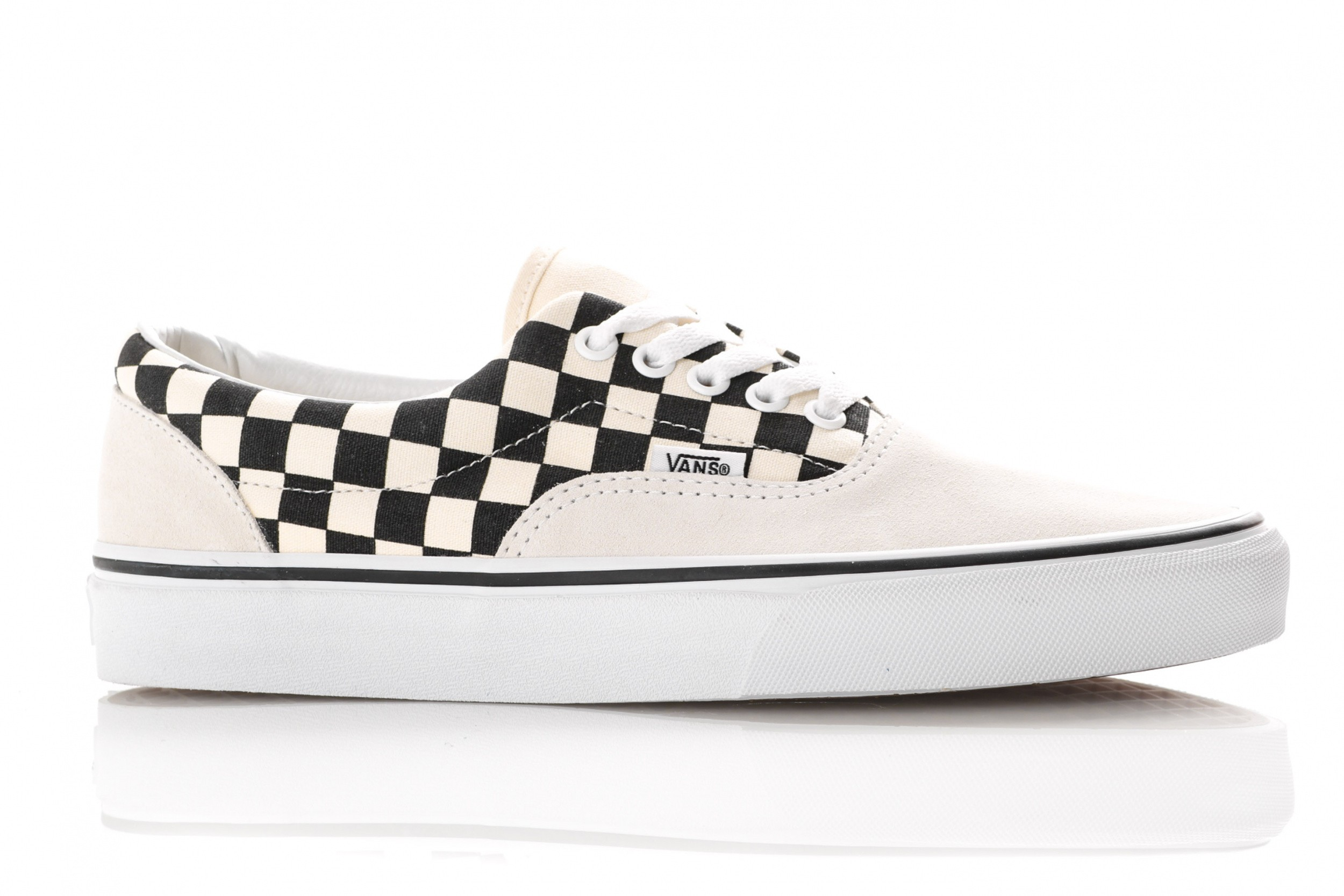 3f2abe662ce Vans Ua Era Vn0A38Frten Sneakers (Primary Check) Marshmallow/Black