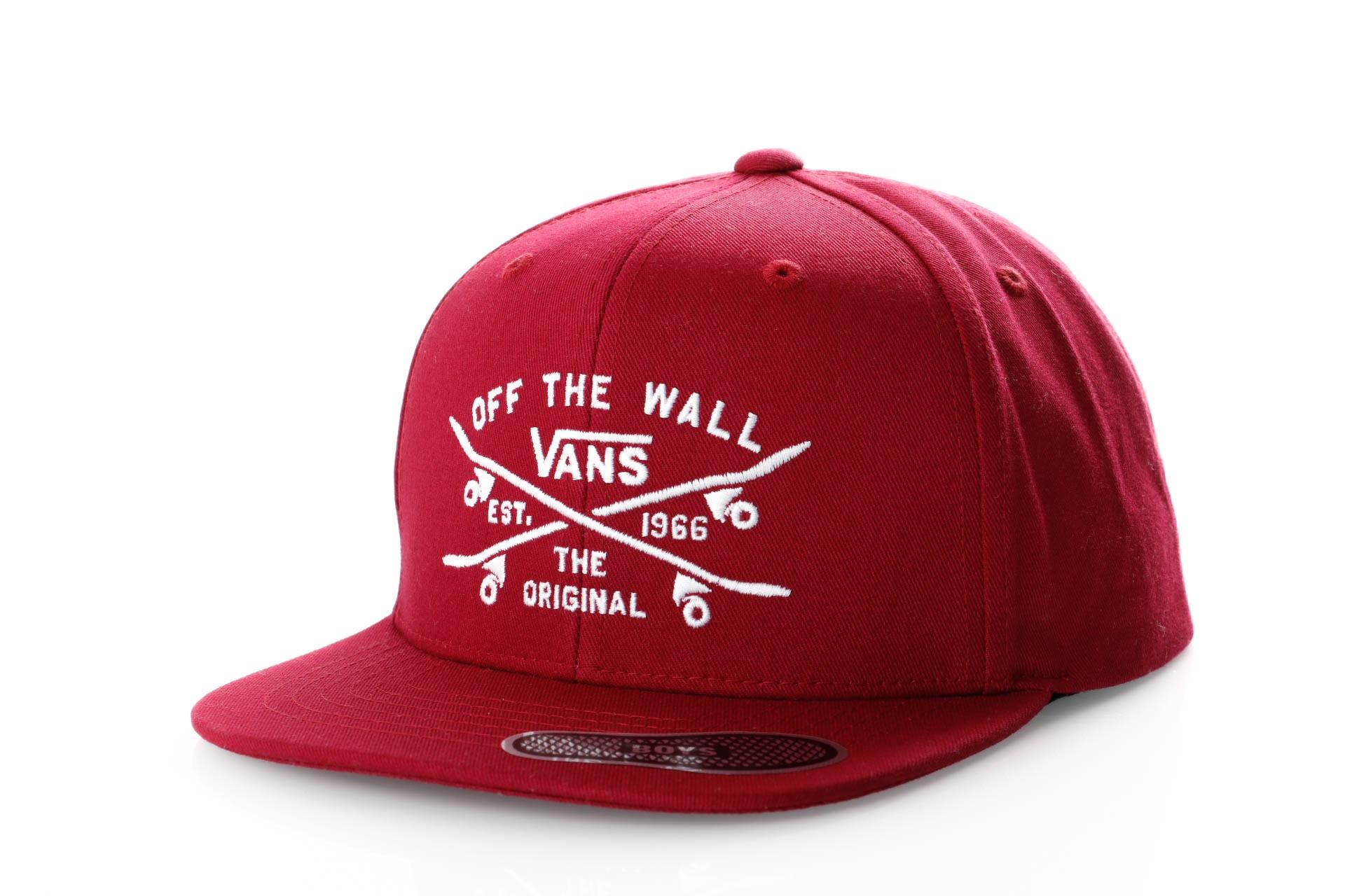 Afbeelding van Vans SKATE LOCK UP SNAPBACK BOYS VN0A3I4KTD2 Snapback cap RHUMBA RED