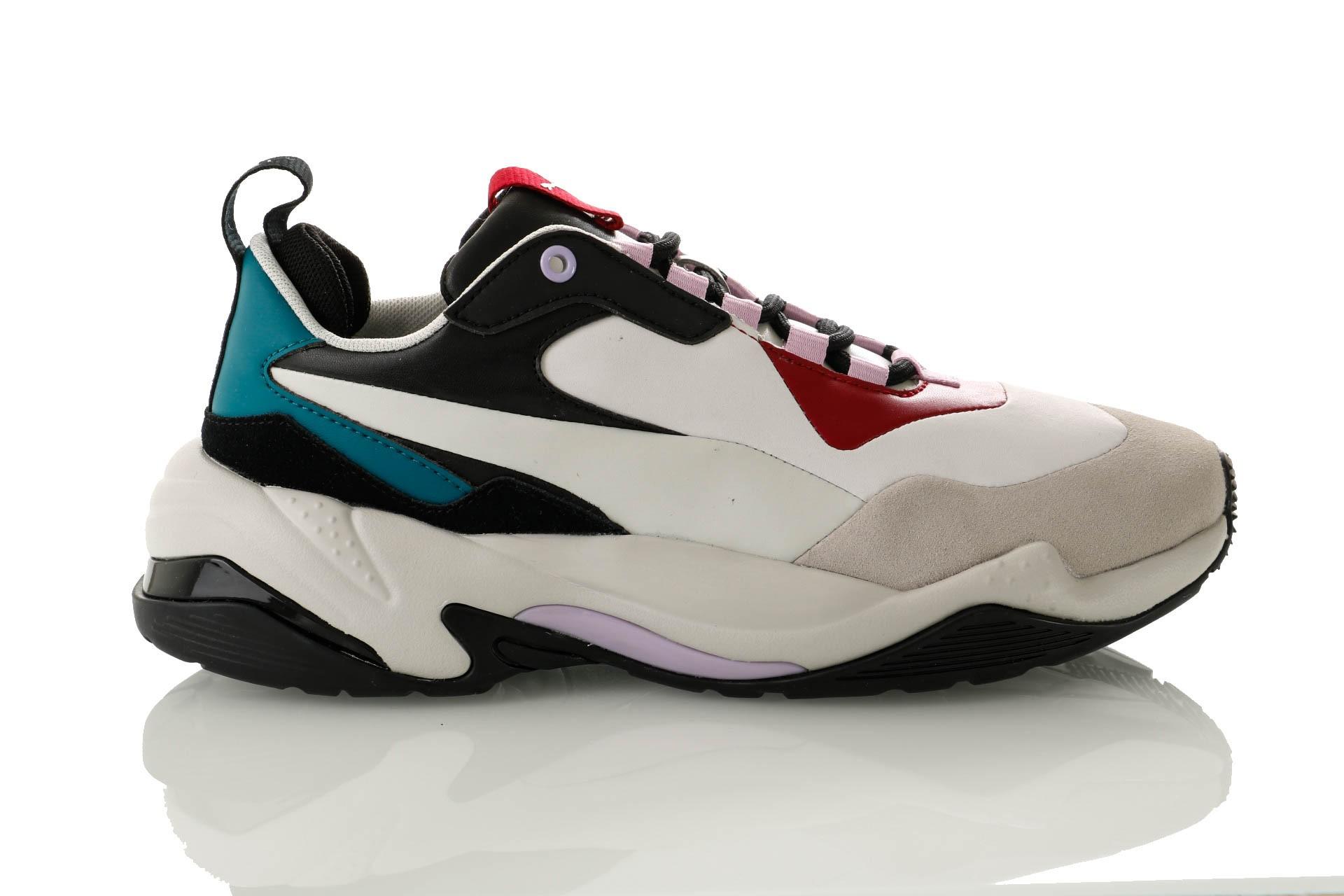 Foto van Puma THUNDER RIVE DROITE WN'S 369452 Sneakers Glacier Gray-Barbados Cherry