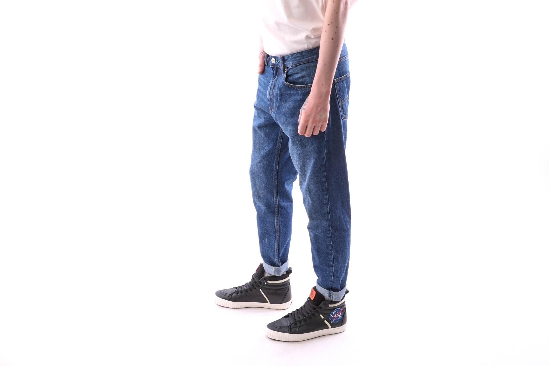 Foto van Tommy Hilfiger TJM CREST DAD JEAN DM0DM05943 Jeans DARK BLUE DENIM