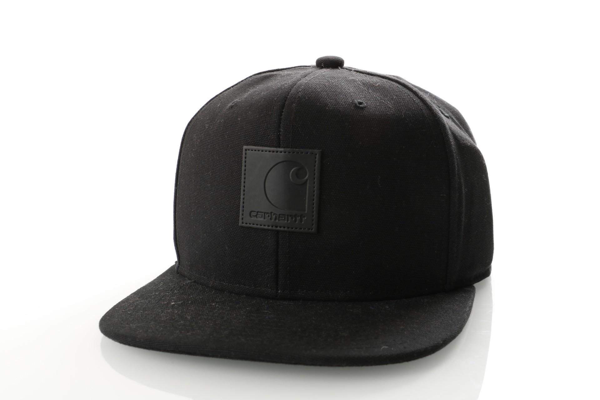 Foto van Carhartt WIP Logo Cap I023099 Snapback cap Black