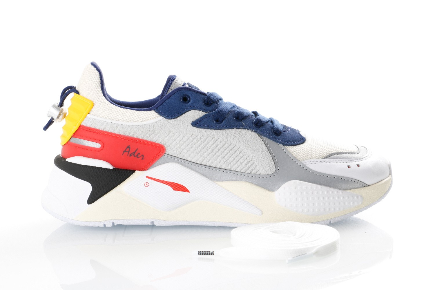 Foto van Puma RS-X ADER ERROR 369538 Sneakers Whisper White-Blueprint-Puma Red
