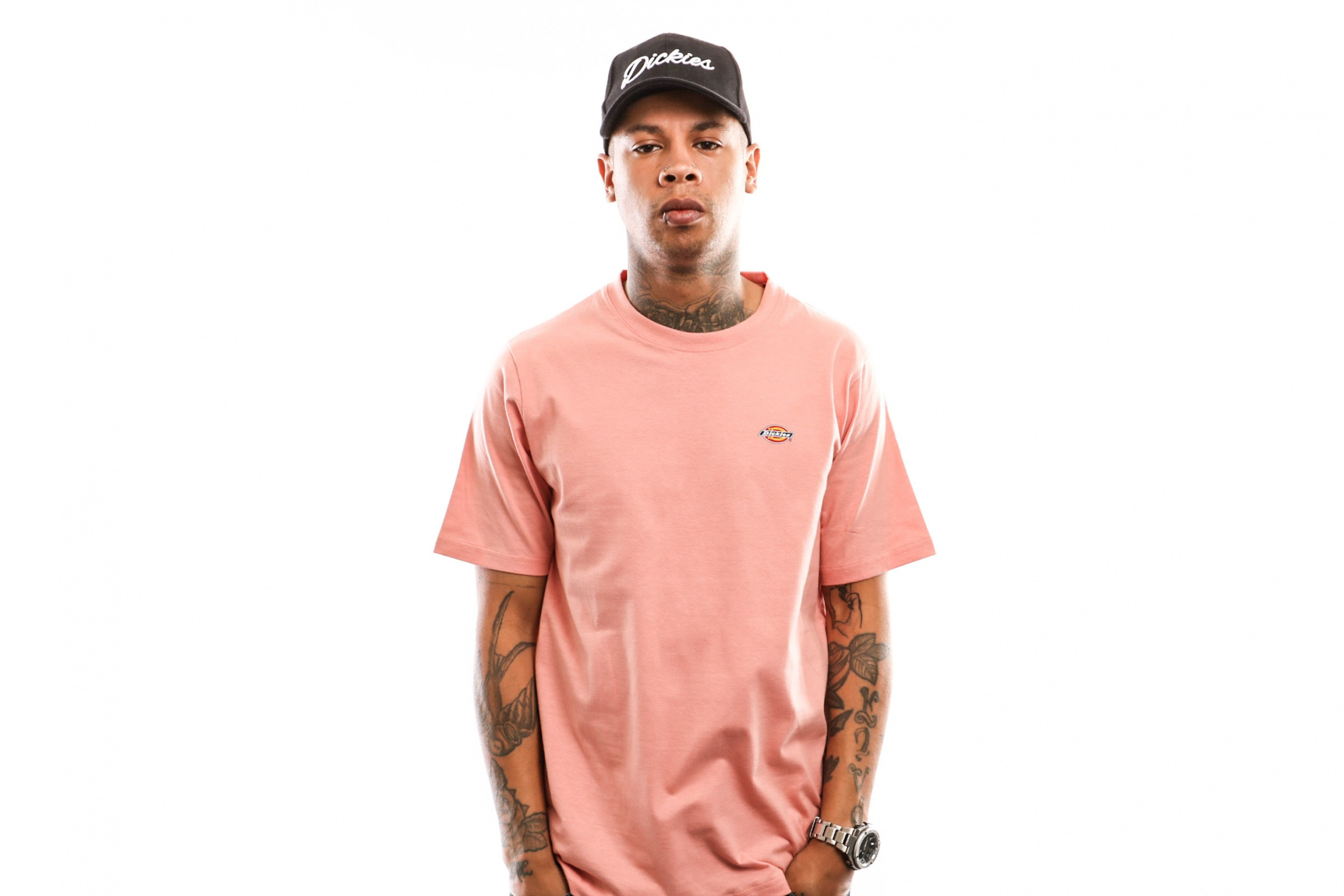 Foto van Dickies Stockdale 06 210578 T Shirt Flamingo