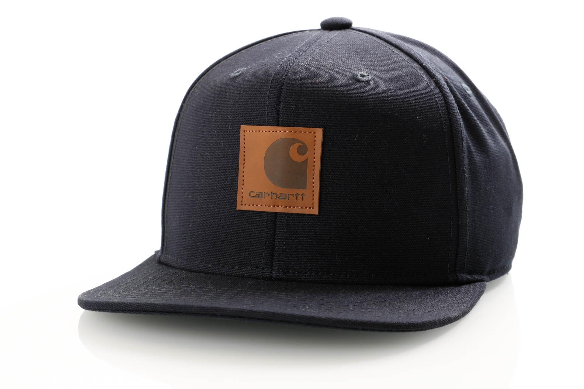 Foto van Carhartt WIP Logo Cap I023099 Snapback cap Dark Navy