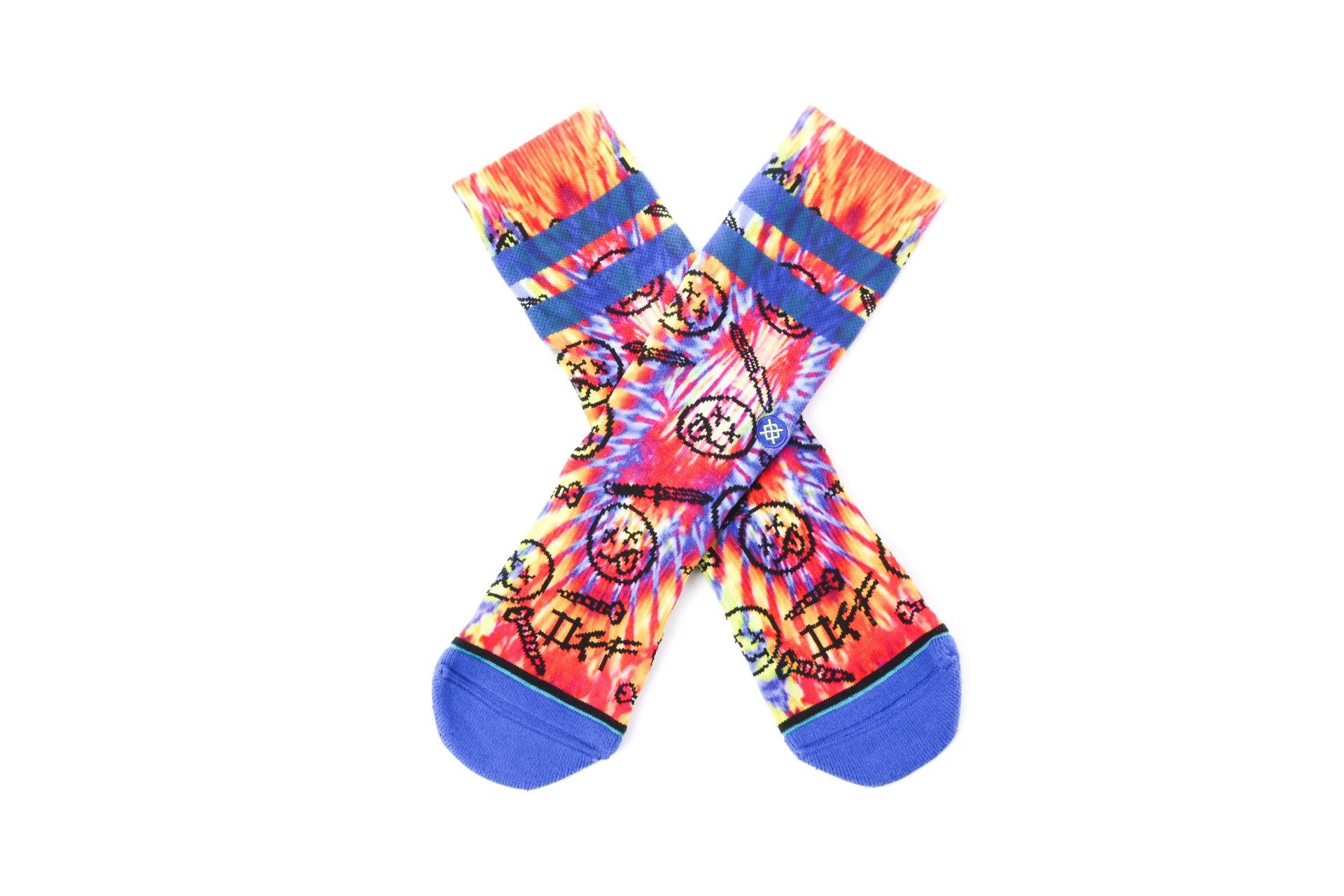 Foto van Stance SCREW OFF M558D18SCR sokken BLUE