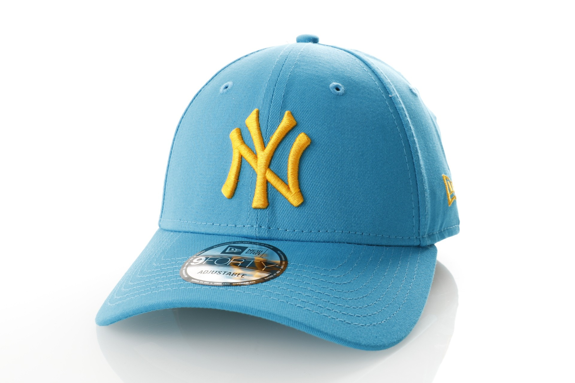 Foto van New Era 9Forty SWBRGLD NEW YORK YANKEES 11841189 dad cap Sunwahblue/Butter MLB