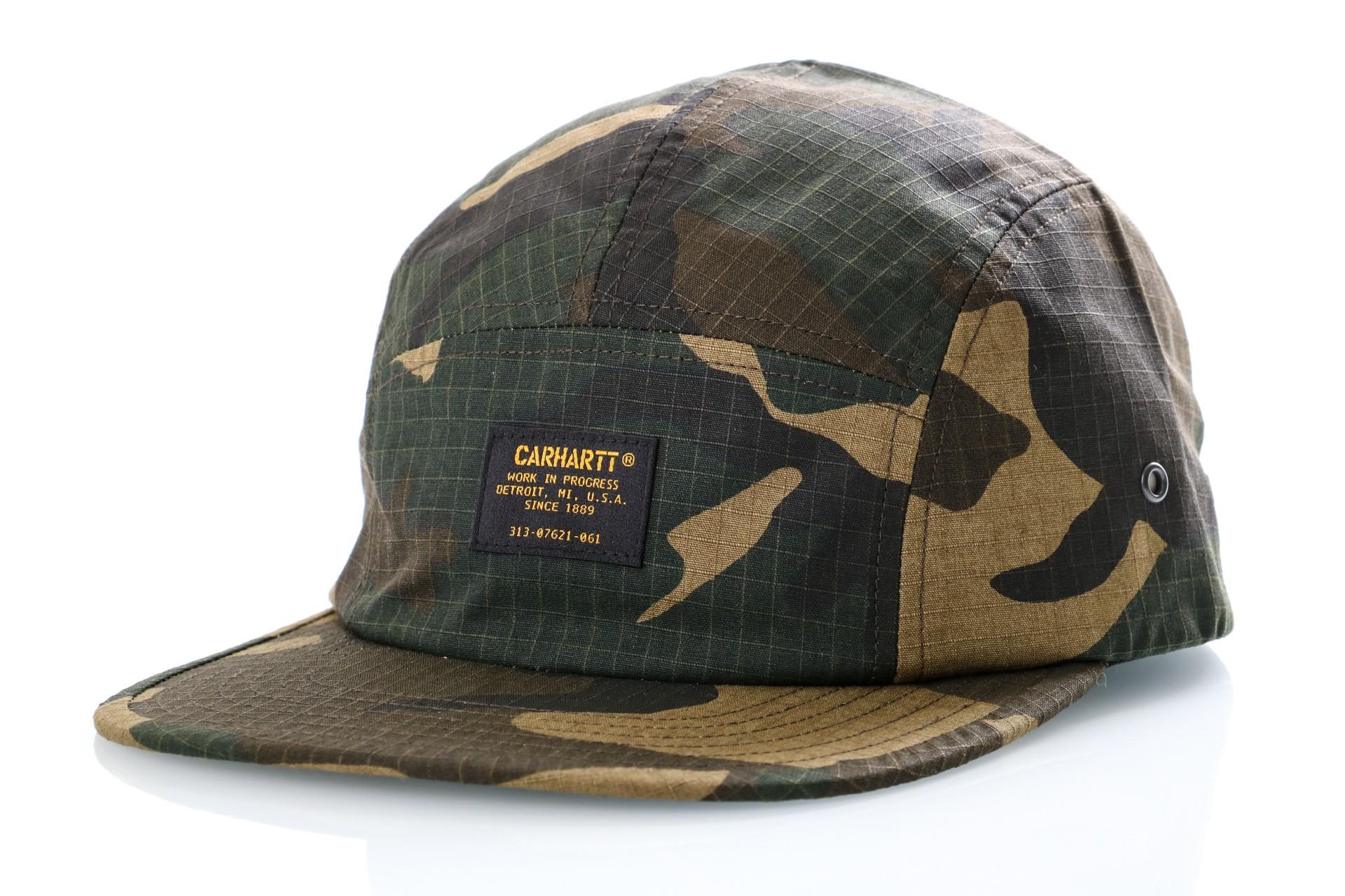Foto van Carhartt WIP Dad Cap Military Cap Camo Laurel I024308