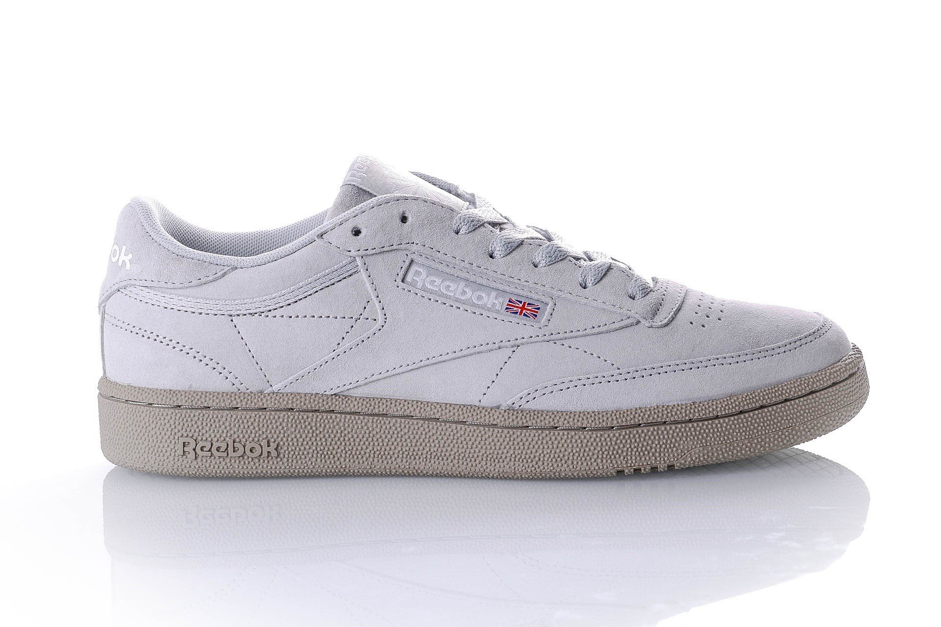 Foto van Reebok CLUB C 85 MU CN5782 Sneakers NM-SKULL GREY/SUPER NEUTRAL/WHITE