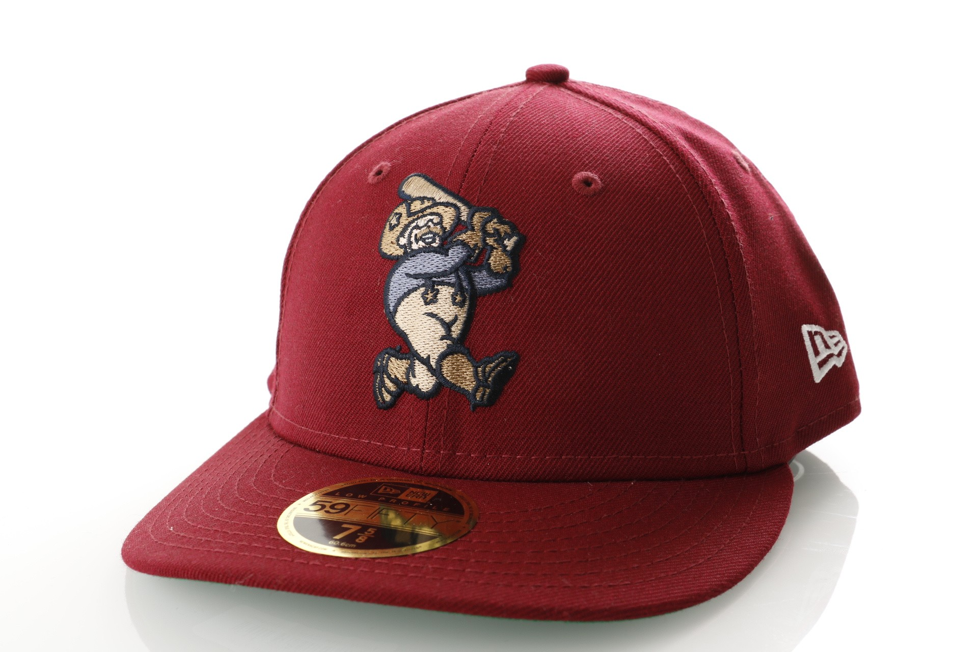 Foto van New Era Milb Lp 59Fifty Frisco Rough Riders 11794662 Fitted Cap Offical Team Colour Milb