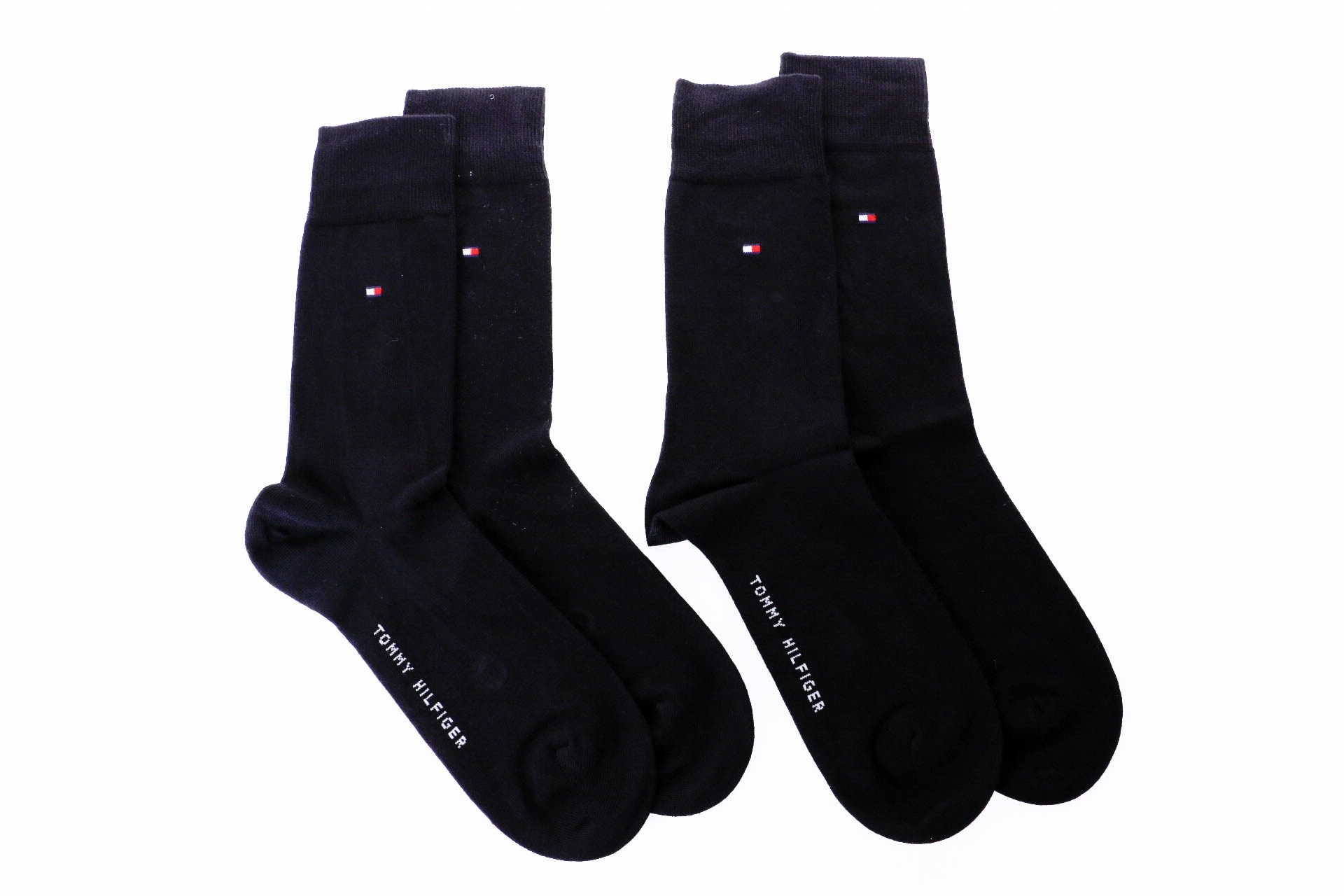Foto van Tommy Hilfiger TH MEN SOCK CLASSIC 2P 371111 sokken black