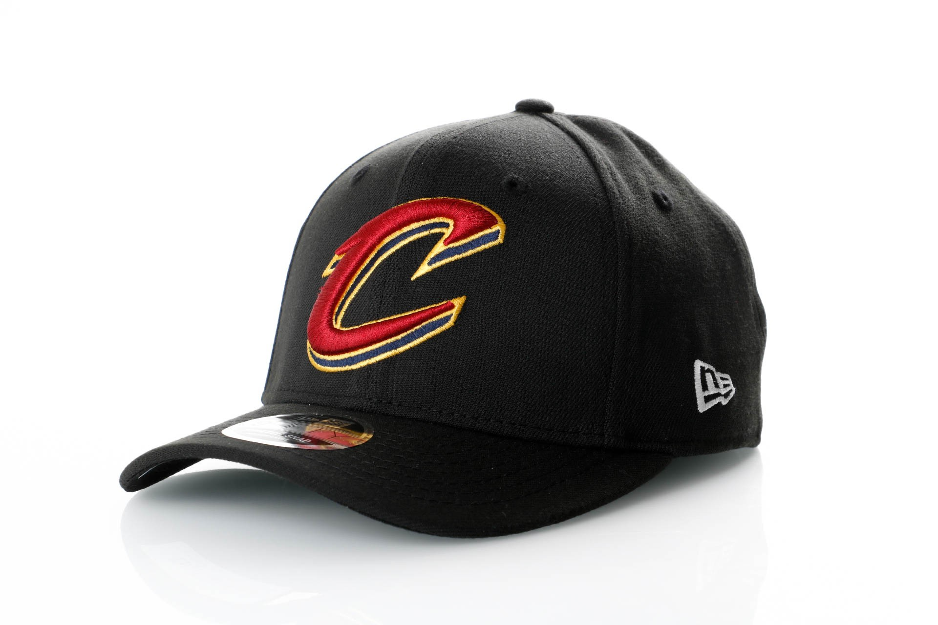 Foto van New Era Stretch Snap 9Fifty 11871283 Snapback Cap Black/Offical Team Colour Nba Cleveland Cavaliers
