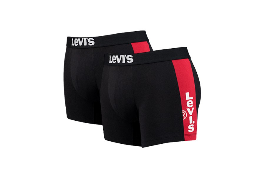 Foto van Levi'S Bodywear Levis Tab Boxer Brief 995029001 Boxershort Black