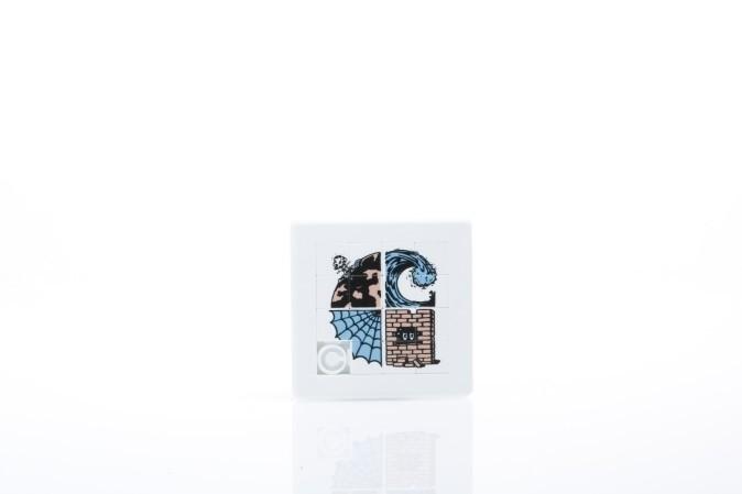 Afbeelding van Carhartt WIP I024347-0800 Puzzle Wasteland sliding Multicolor