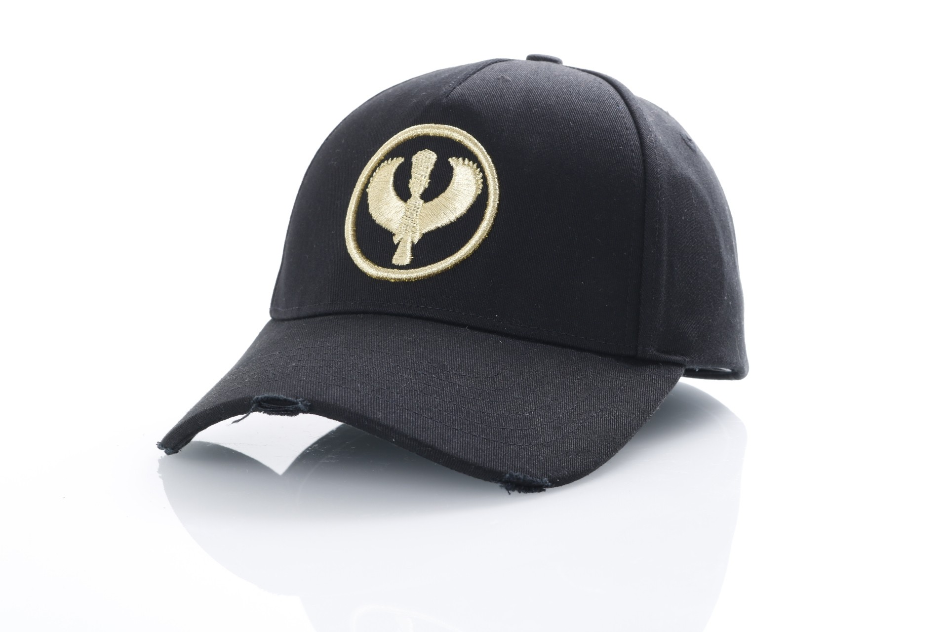 Foto van Pharaoh Official Dad cap Canvas Goud