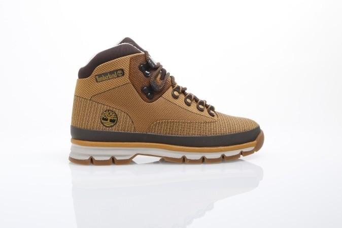 Foto van Timberland CA1A92 Boots Euro hiker jacquard Bruin