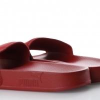 Afbeelding van Puma 365758-04 Slide sandal Leadcat suede Rood