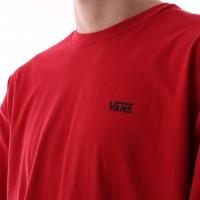 Afbeelding van Vans VA3CZE-14A T-shirt Left chest logo Rood