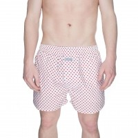 Afbeelding van Pockies Boxershort Dirty Luv Red