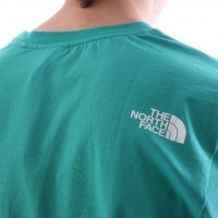 Afbeelding van The North Face T92TX3-ZCV T-shirt Easy Groen