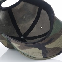 Afbeelding van raised by wolves fuck off dad cap Camo Twill