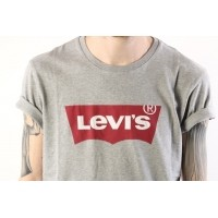 Afbeelding van Levi's 17783-01380 T-shirt Graphic set-in neck hm Grijs