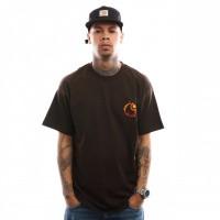 Carhartt WIP S/S Burning C T-Shirt I025760 T shirt Tobacco