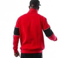 Afbeelding van DC CLEWISTON MOCK M OTLR RRH0 EDYFT03391-RRH0 Crewneck 1/4 zip Tango Red