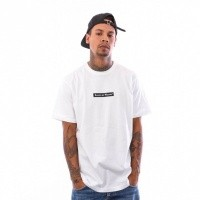 Raised by Wolves Registered Box Logo Tee RBWFW18501 t Shirt White Jersey