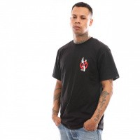 Afbeelding van Vans Zero Forks Ss VN0A3VZZBLK T shirt Black
