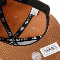 Afbeelding van New Era LEAGUE ESSENTIAL 5950 ATLANTA BRAVES 11794694 Fitted Cap WHEAT MLB