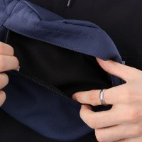 Afbeelding van Carhartt Wip Payton Hip Bag I025742 Heuptas Blue / White