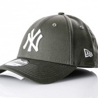 Afbeelding van New Era League essential 940 80636010 dad cap New Olive New York Yankees