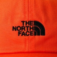 Afbeelding van The North Face THE NORM HAT T9355W3LZ Dad Cap PERSIAN ORANGE/TNF BLACK