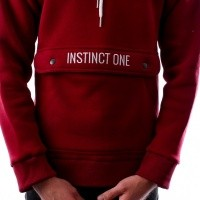Afbeelding van Instinct One Differ IO-18017 Hooded Bordeaux
