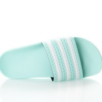 Afbeelding van Adidas Adilette W Cg6538 Slippers Clear Mint/Clear Mint/Ftwr White