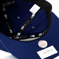 Afbeelding van New Era League Essential 59Fifty 11871514 Fitted Cap Dark Royal/Gray Boston Red Sox