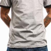 Afbeelding van Levi'S Ss Ringer Tee 39969-0020 T Shirt Midtone Heather Grey/ M