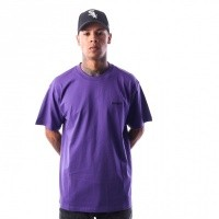 Carhartt WIP S/S Script Embroidery T-Shirt I025778 T-shirt Frosted Viola / Black