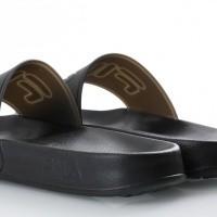 Afbeelding van Fila Ladies 1010343-25Y Slide sandal Bay point Zwart