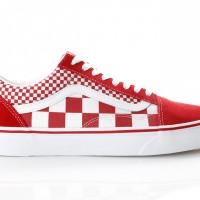 Afbeelding van Vans UA Old Skool VN0A38G1VK5 Sneakers (Mix Checker) chili pepper/true white
