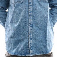 Afbeelding van Carhartt Wip Salinac Shirt Jac I023977 Shirt Blue Light Stone Washed