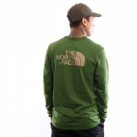The North Face M L/S Easy Tee T92Tx1 Longsleeve Garden Green