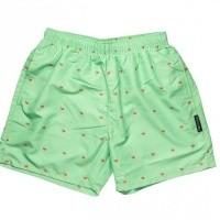 Afbeelding van Pockies Swimshort Star Beach Mint Green - Ice Cones